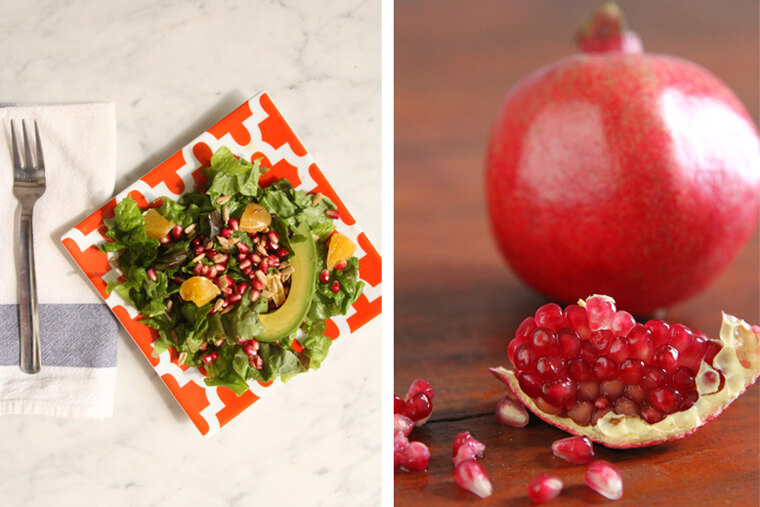 Orange & Pomegranate Salad