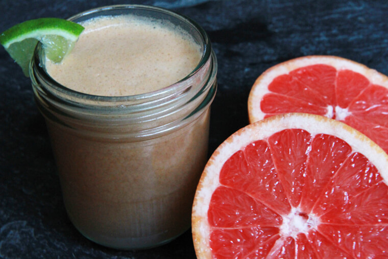 Grapefruit, Lime & Ginger Juice | figgy and sprout